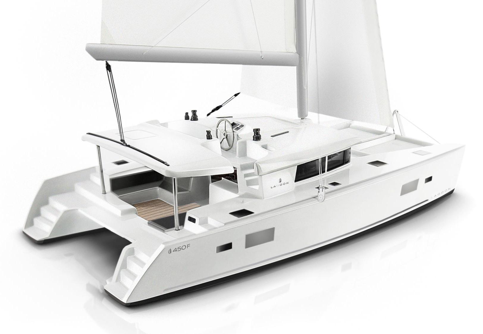 Avgerinos sailing, Lagoon 450F